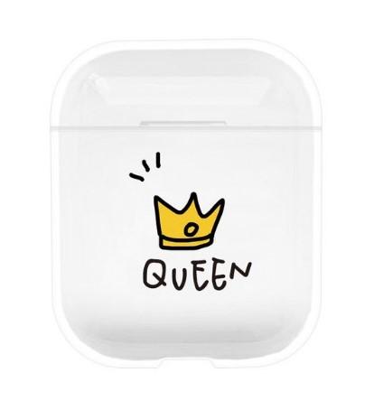 coque airpods queen