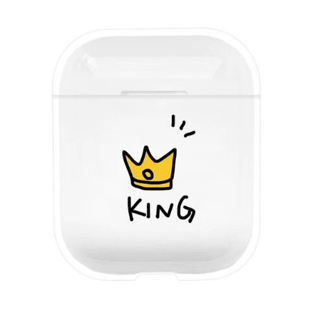 coque airpods king