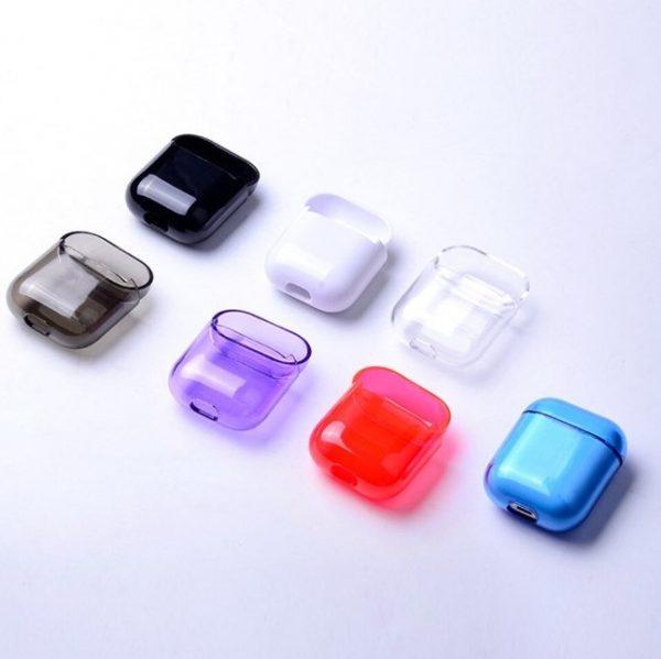 coque airpods transparente 2