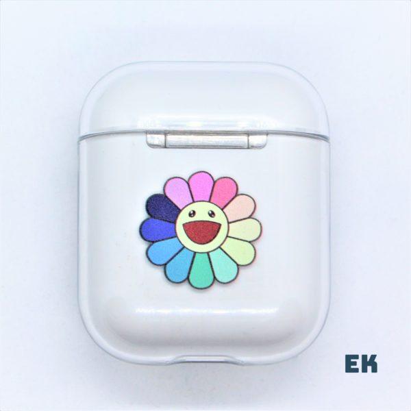coque airpods fleur multi 2