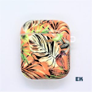 Coque Feuilles orange